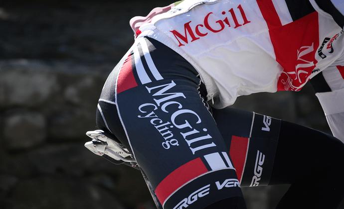 <p>McGill Cycling Kit</p>